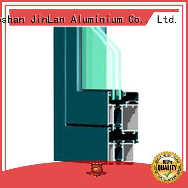 Hot aluminium section frame aluminium extrusion sections sections JinLan