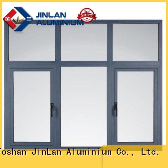 Custom aluminium windows doors aluminium window JinLan