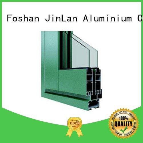 Hot aluminium section sliding aluminium extrusion sections profiles JinLan