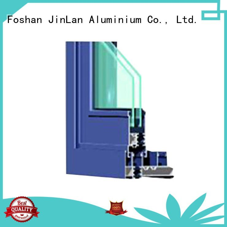 aluminium section customized windows wood door