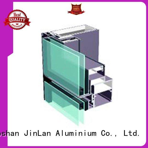 aluminium curtain wall aluminum systems JinLan Brand