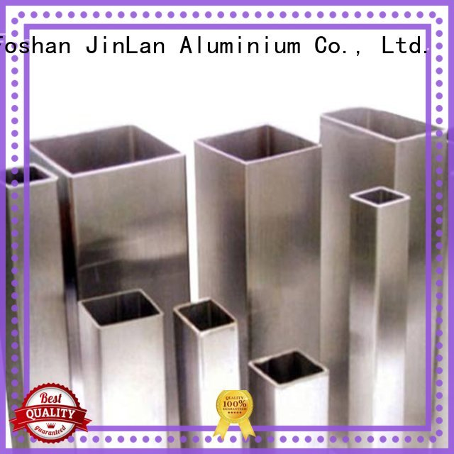 pipe aluminium extrusion manufacturers in china stand JinLan company