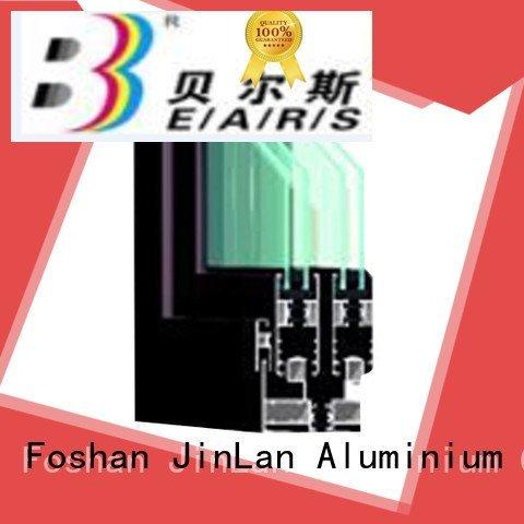 JinLan customized sections frame aluminium section aluminum
