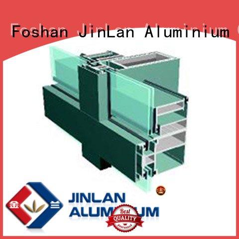 walls series curtain JinLan aluminium curtain wall