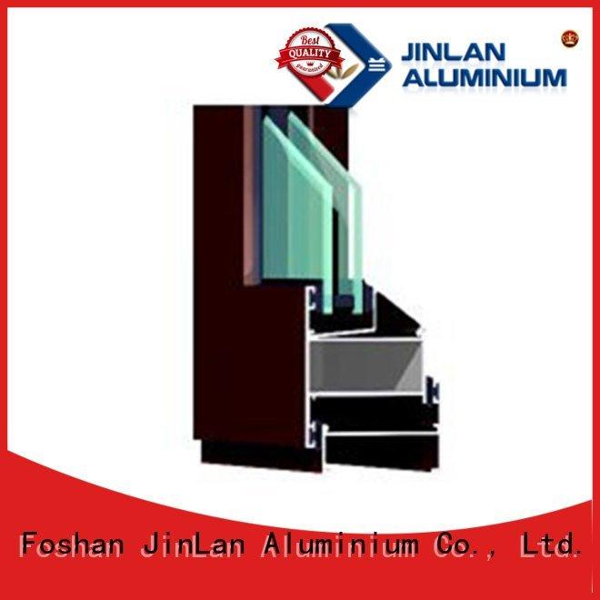 Quality JinLan Brand aluminium section windows