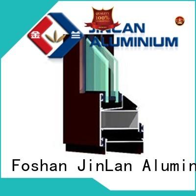 Wholesale popular aluminium sliding doors JinLan Brand