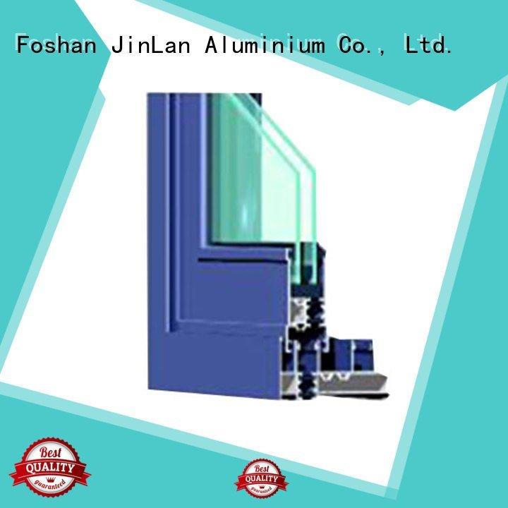 sill wood aluminium extrusion sections aluminium JinLan