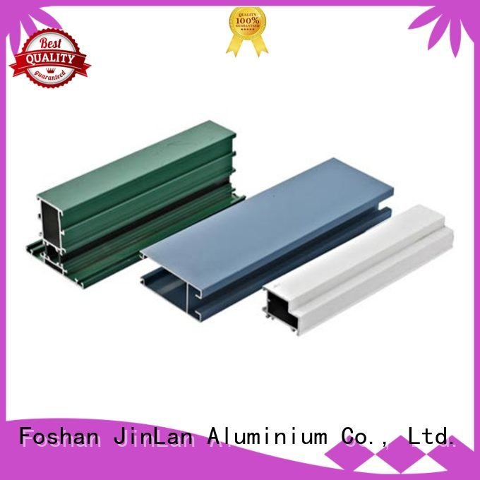 JinLan Brand profile stand pipe aluminum rectangular tubing