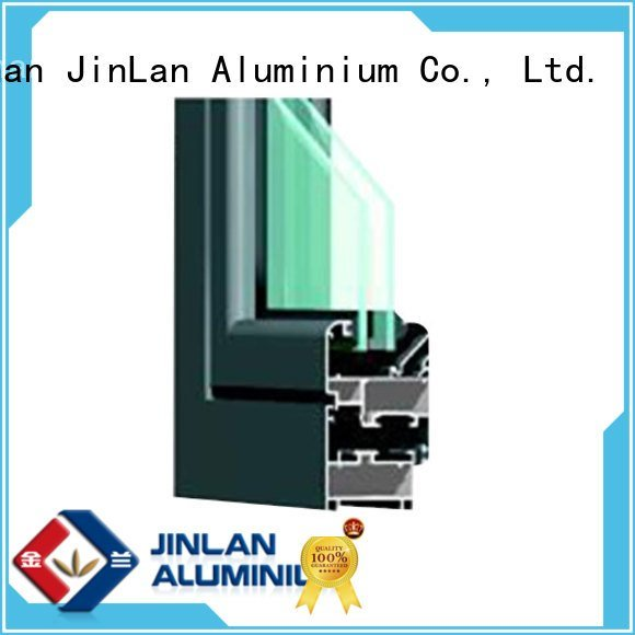 OEM aluminium section details sliding customized aluminium extrusion sections