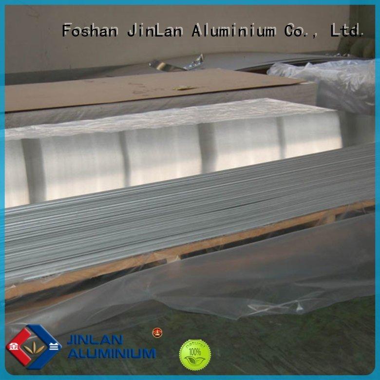 JinLan coil roll aluminum sheet thickness sheeting sheets