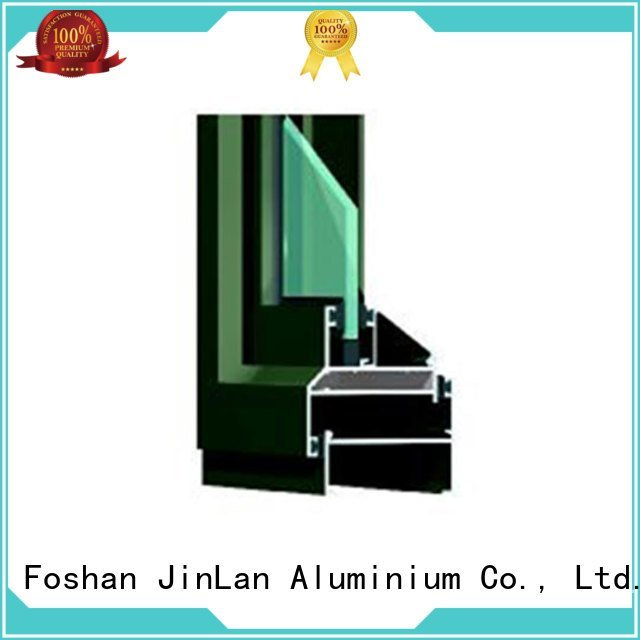 JinLan aluminium section customized windows details