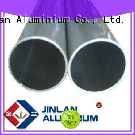 JinLan profile extrusion systems aluminum rectangular tubing stand