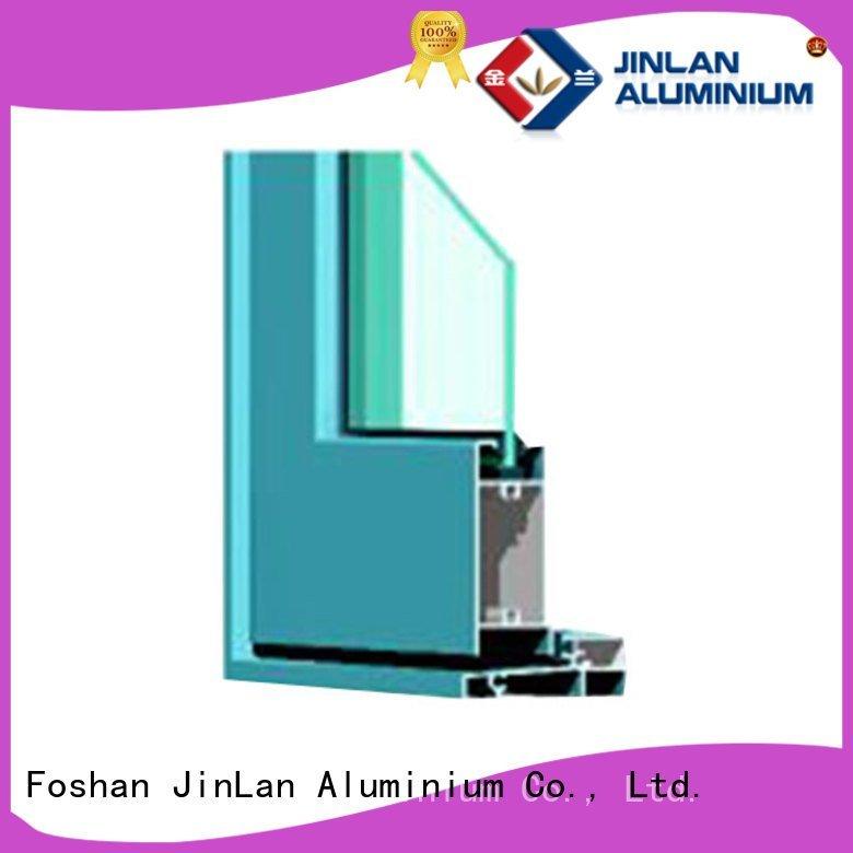 JinLan aluminium section customized profiles extrusion