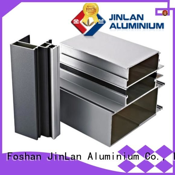 JinLan profile pipe aluminium extrusion manufacturers in china solar stand