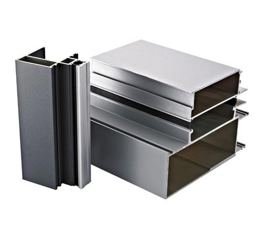 silver anodize surface profile