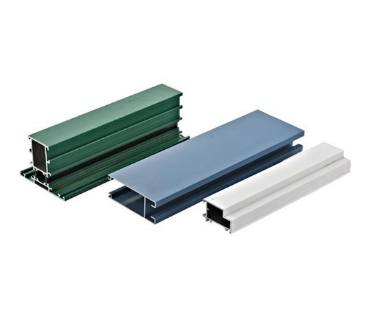 color powder coating aluminium profiles