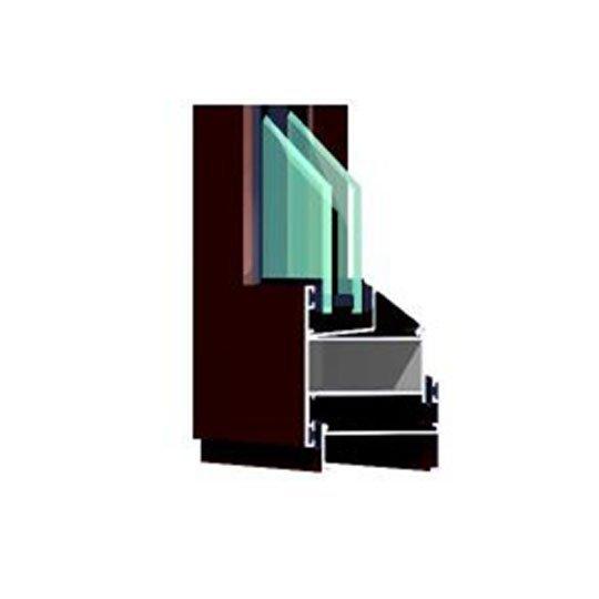 Aluminum Window Profile 50B