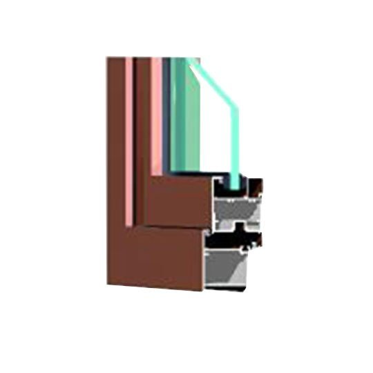 Aluminium Window Extrusion Profiles 60