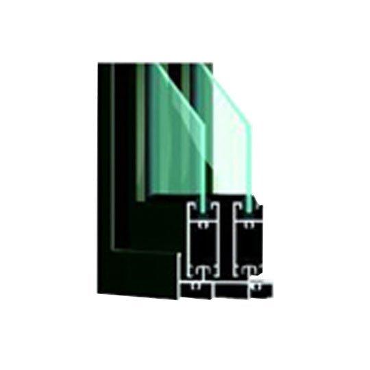 Customized Aluminum Window Section A87