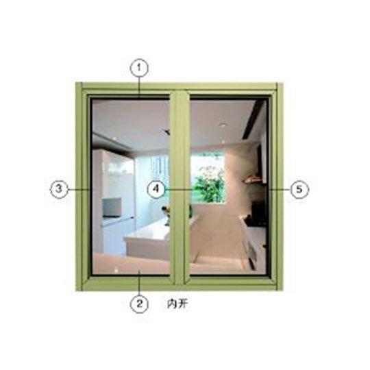 Aluminium Profiles for Windows BL60