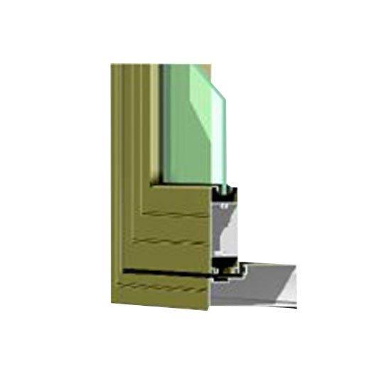 Aluminium Window Section Details HB93