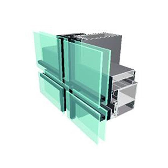 Aluminium Curtain Wall 100 SERIES