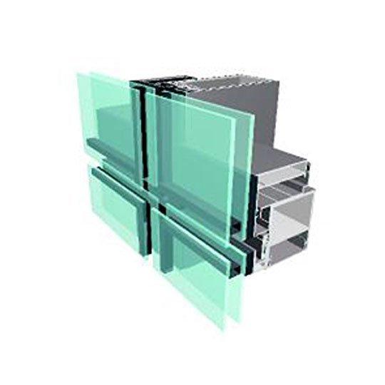 Aluminium Curtain Wall 100 SERIES