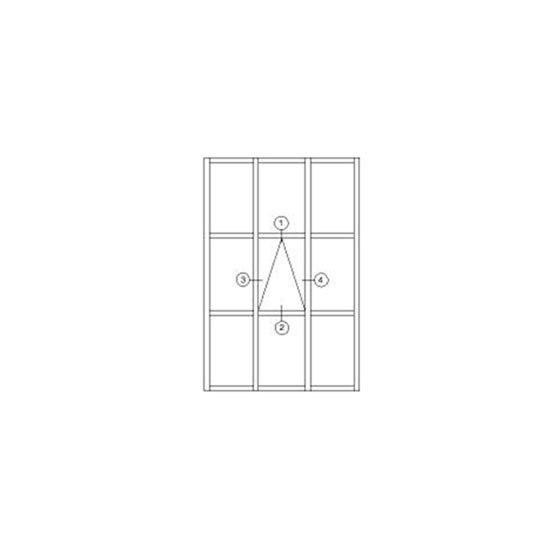 Aluminum Curtain Wall 120, 150, 160, 200 SERIES