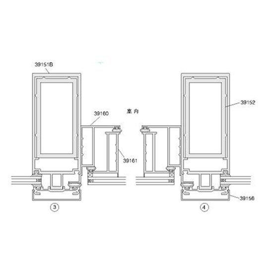 Aluminum Curtain Wall 120, 150, 160, 200 SERIES