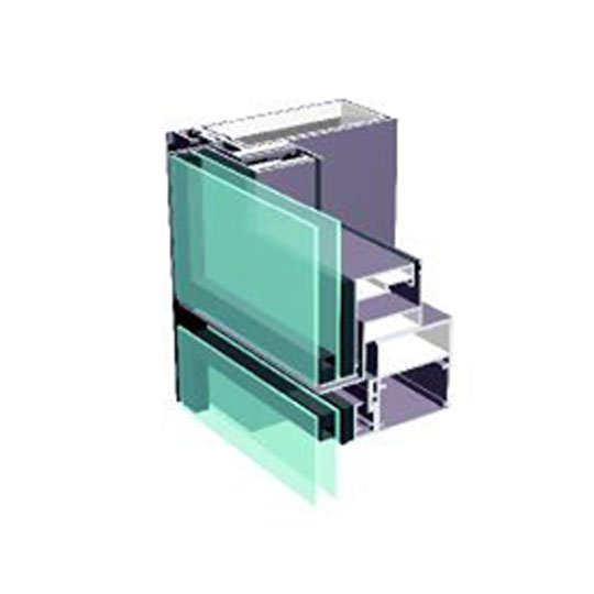 Aluminum Curtain Wall Systems YX140 SERIES