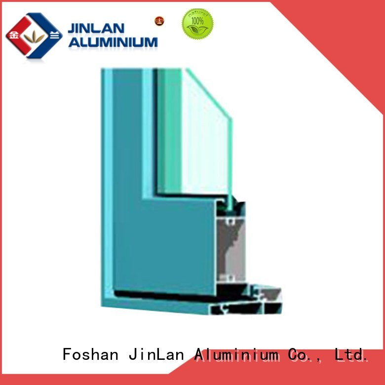 JinLan Brand door details aluminium section profiles window