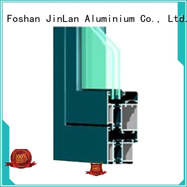 sliding aluminium section JinLan Brand