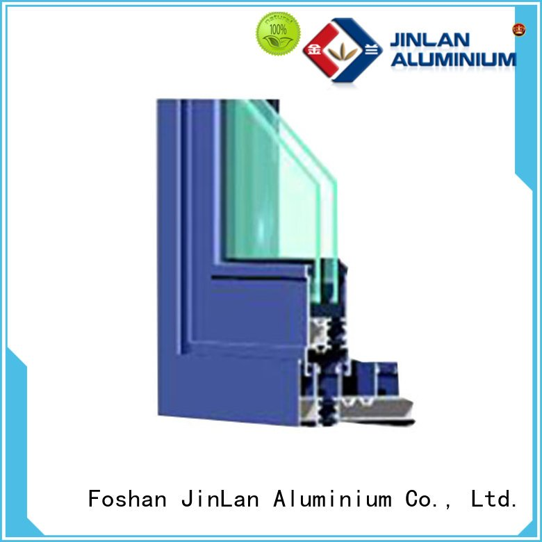 sections window extrusion JinLan aluminium section