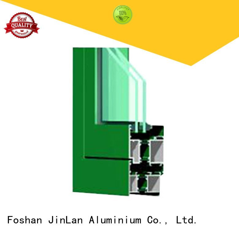 JinLan Brand profiles frame customized aluminium extrusion sections