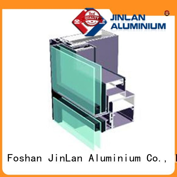 wall hot selling high quality JinLan Brand aluminium doors factory