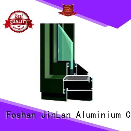 Wholesale profile aluminium doors sliding JinLan Brand