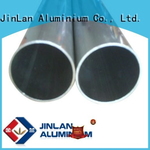 systems aluminium extrusion manufacturers in china extrusion pipe JinLan aluminium