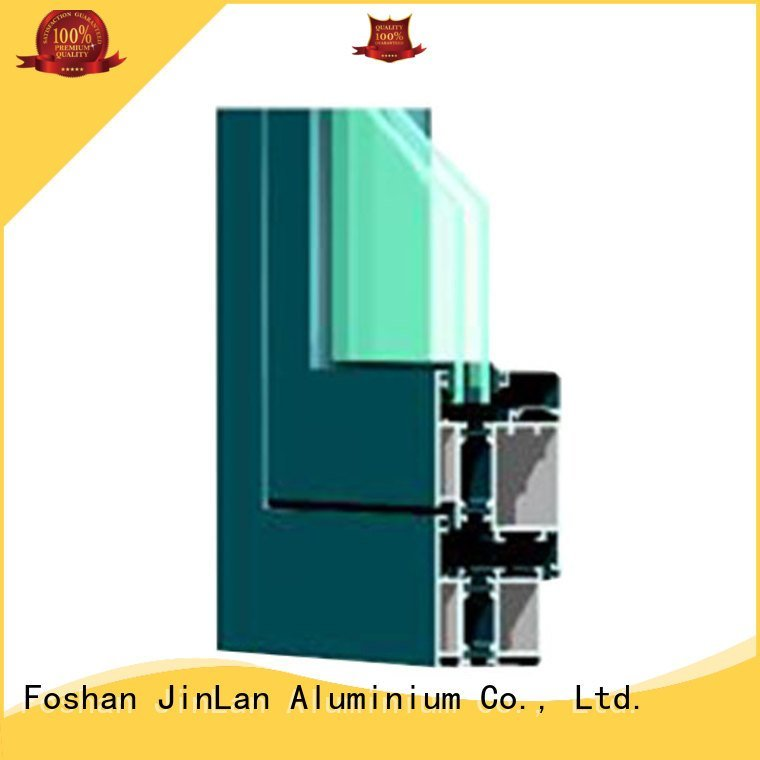 JinLan frame aluminium extrusion sections sections grain