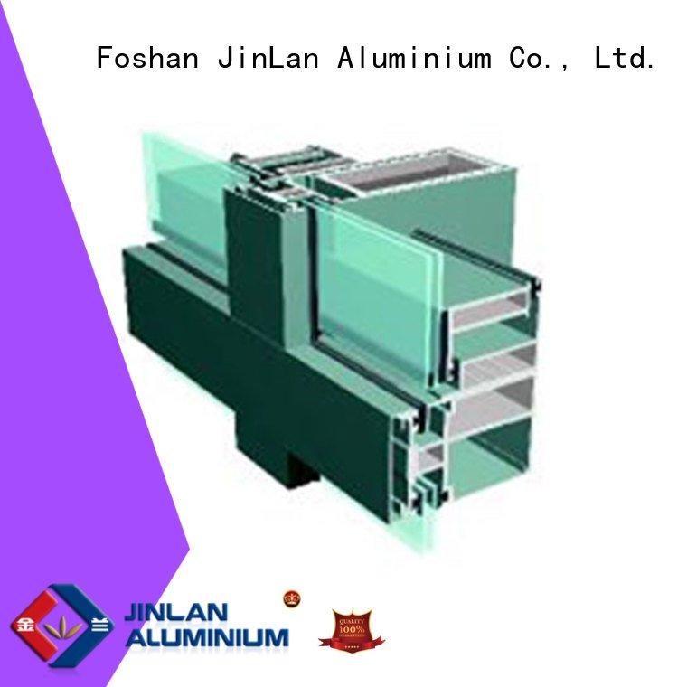 wall walls series aluminum JinLan aluminum curtain wall