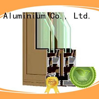 OEM aluminium extrusion sections door windows aluminium section