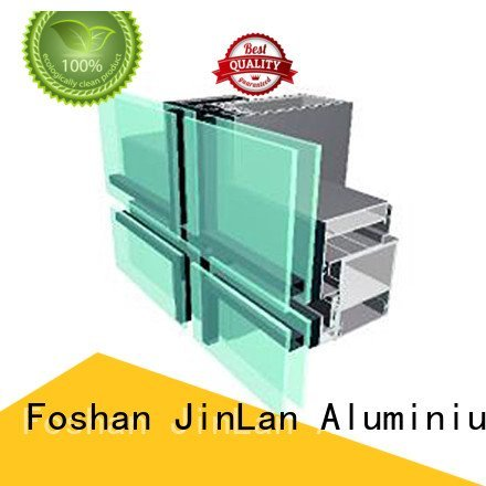 walls aluminum curtain wall JinLan aluminium curtain wall