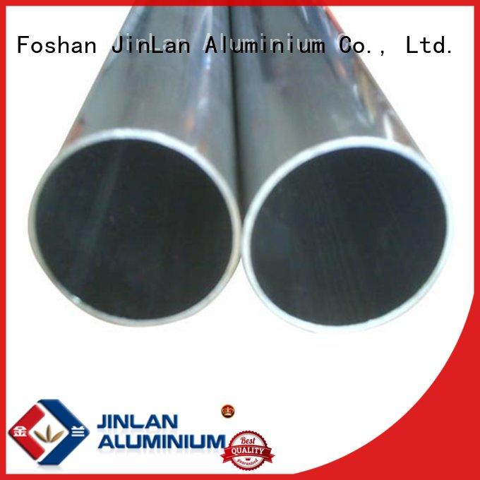 Wholesale systems aluminum rectangular tubing JinLan Brand