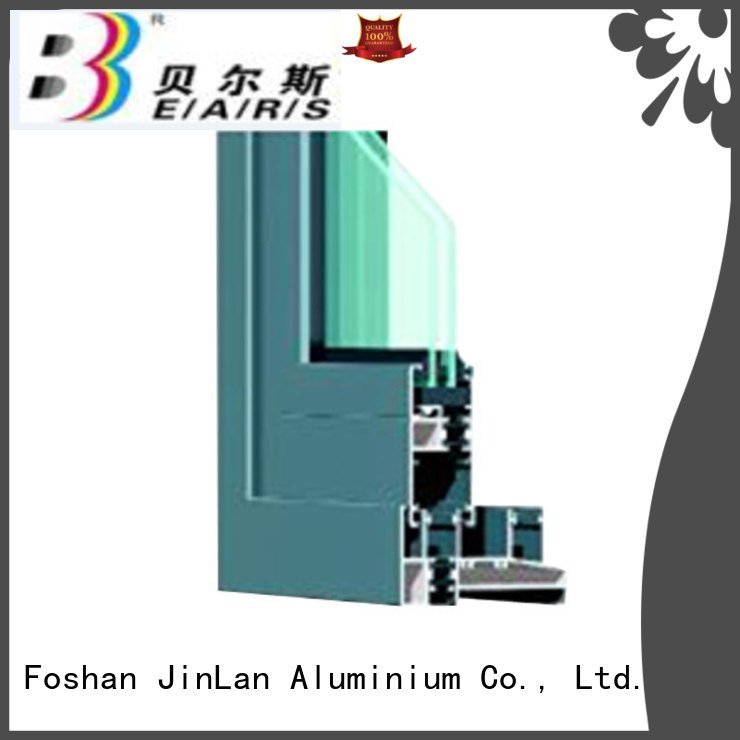 Wholesale sliding section aluminium extrusion sections JinLan Brand