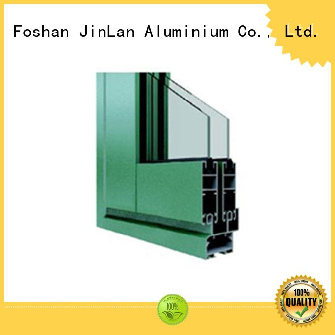 profiles wood JinLan aluminium extrusion sections