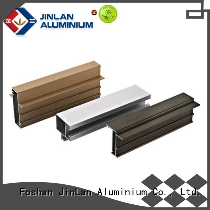 Custom aluminium extrusion manufacturers in china profile solar aluminium JinLan