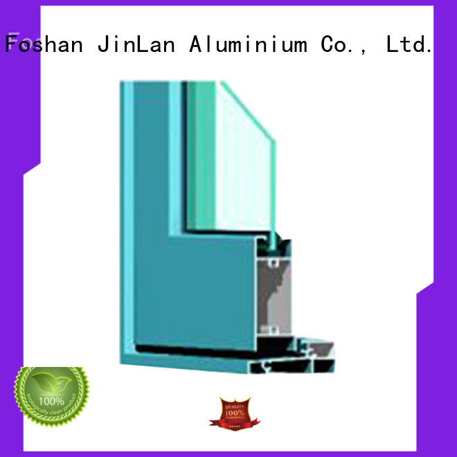 profiles section wood aluminium extrusion sections JinLan