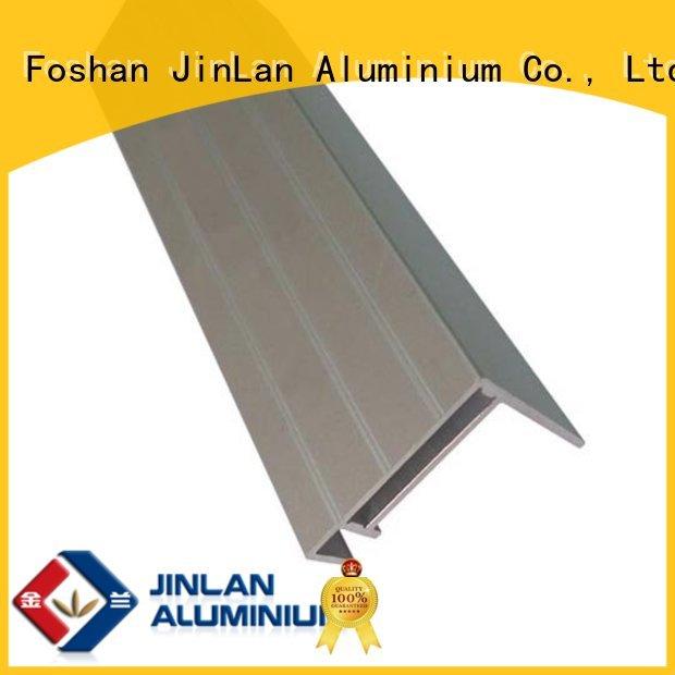 Hot trendy aluminium sliding doors pipe aluminium JinLan Brand