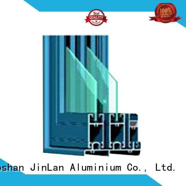 JinLan Brand blasting section aluminium section windows frame