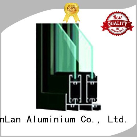 window aluminium extrusion sections blasting aluminum JinLan