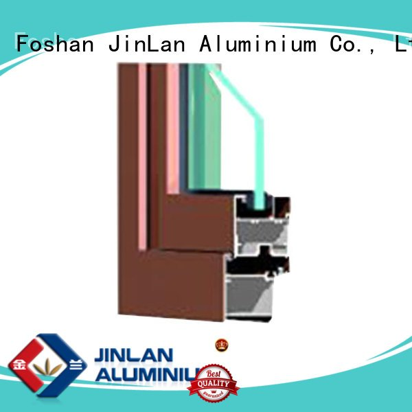 sill aluminium extrusion sections JinLan aluminium section